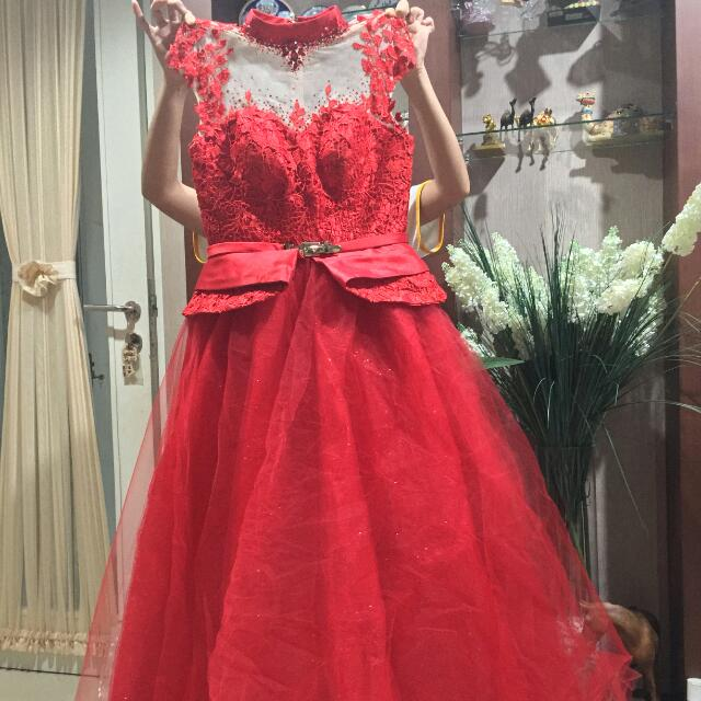 Night Dress Party | Wedding Dress | Sweet17 Dress | Gaun Pesta / Pengantin