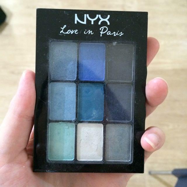 Nyx Love In Paris Makeup Palette