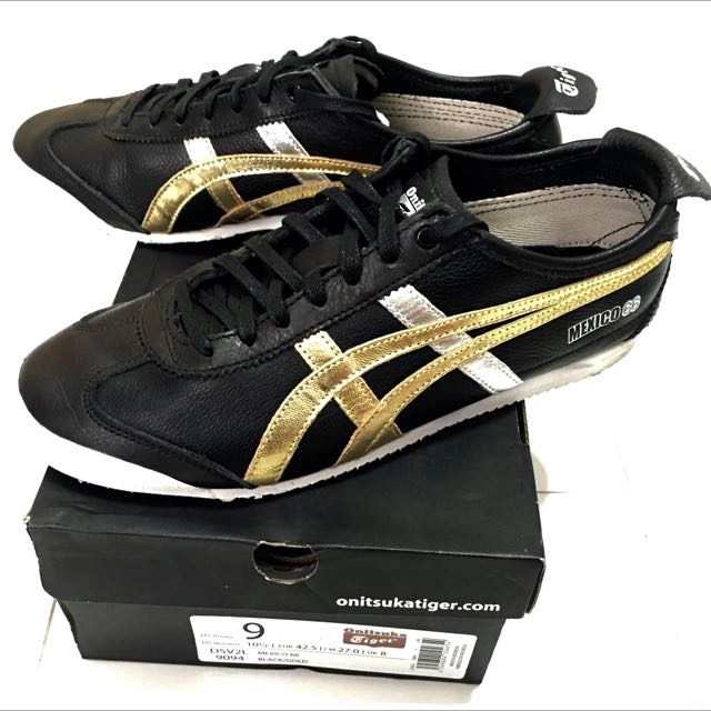 huge discount 7615a ebbdd Onitsuka Tiger Mexico 66 Black/Gold, Men's Fashion, Footwear ...