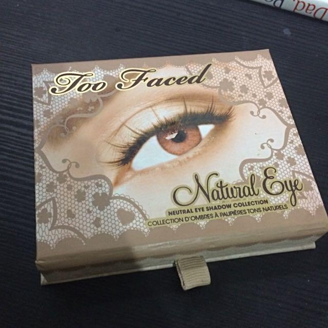 Original Too Faces Natural Eye