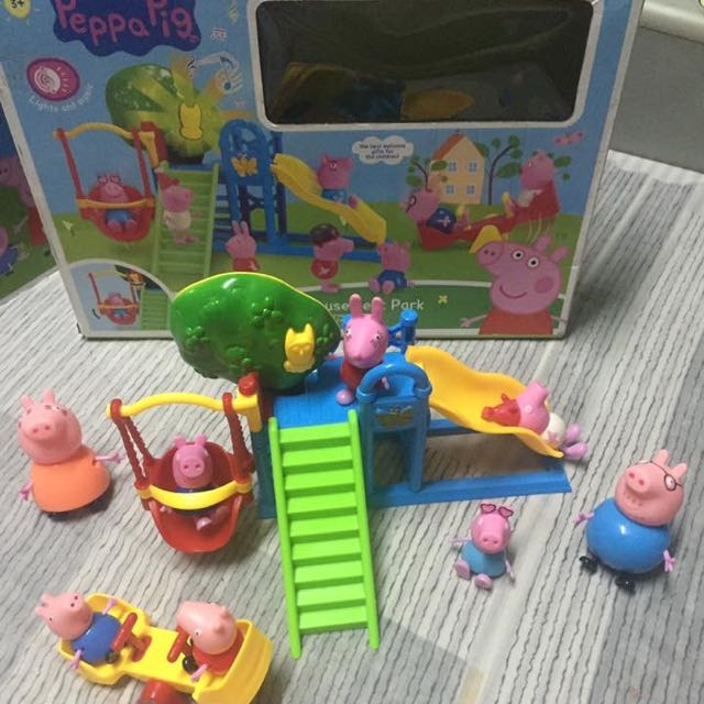 Peppa pig amusement park With Lights And Sounds
