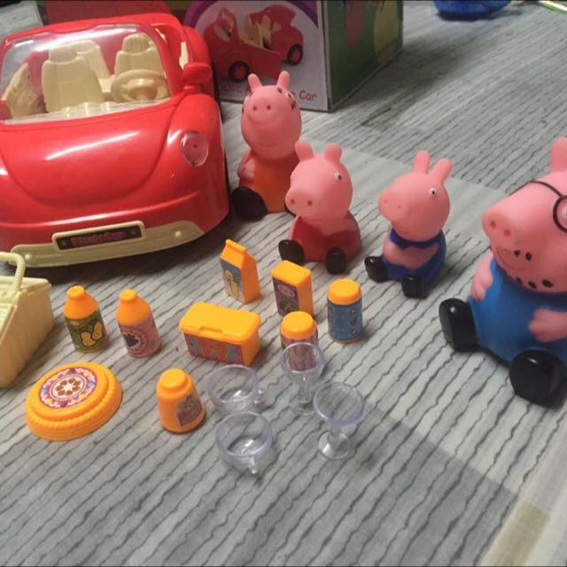 Peppa Pig Picnic Car Playset