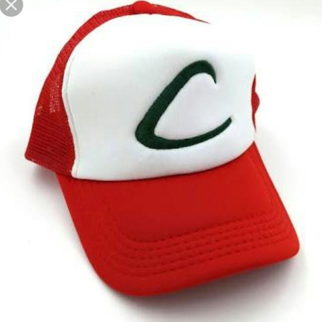 Pokémon Ash Training Trucker Caps
