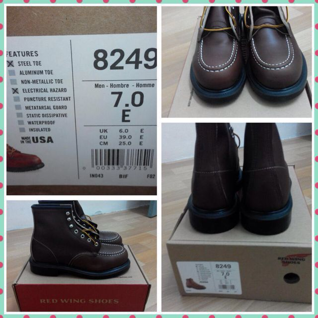 287fb015eac Red Wing Shoes (Safety Boots)