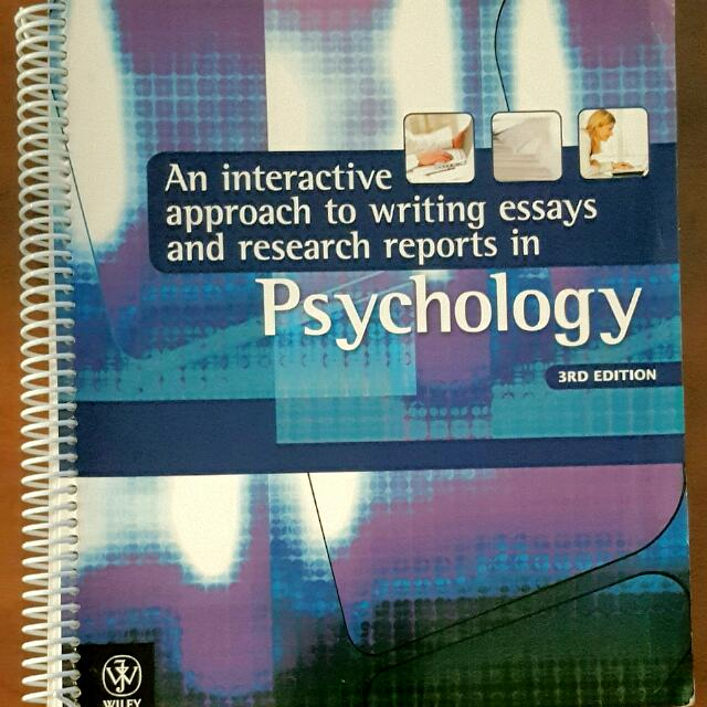 Report Writing: Psychology