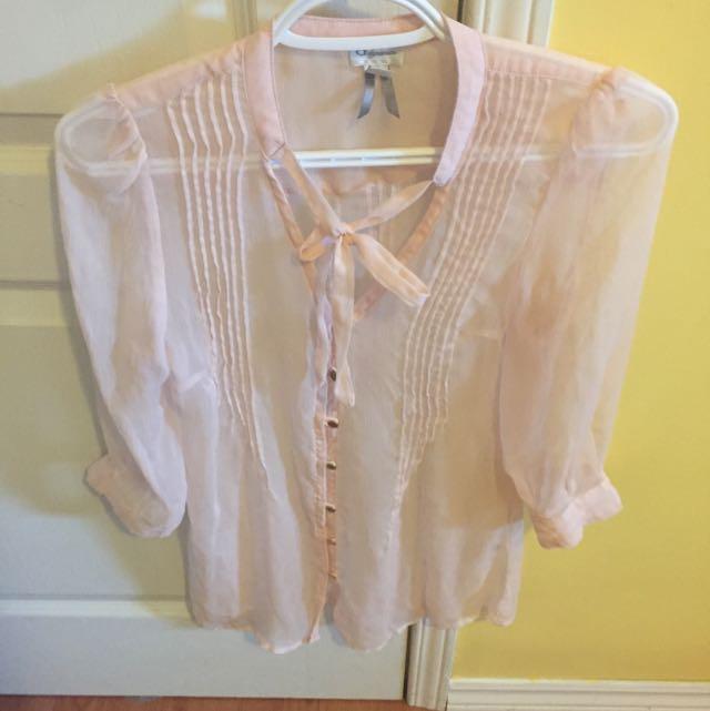 Rose Pink Dress Shirt