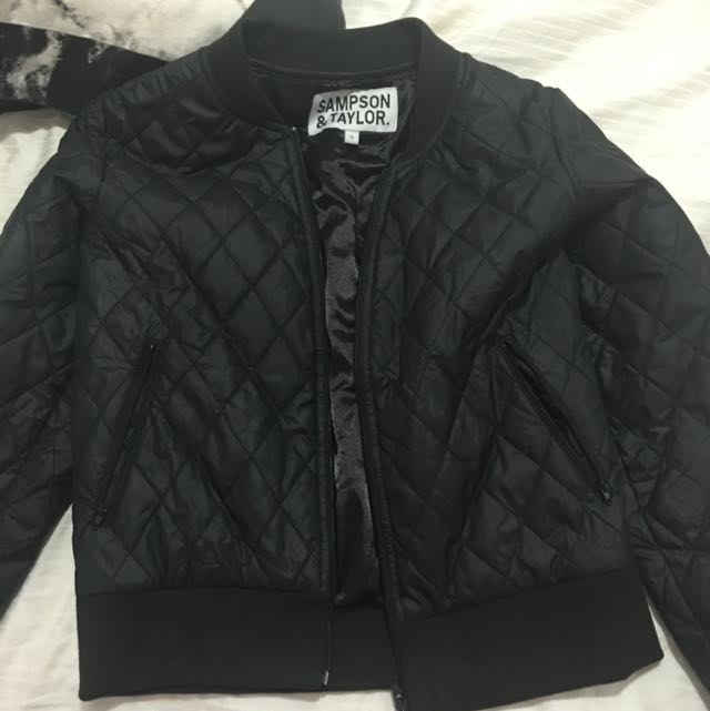 Samson And Taylor Bomber Jacket
