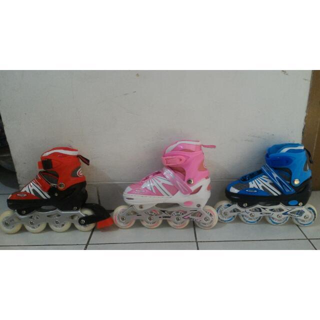 Sepatu Roda Anak Karet Power Zone