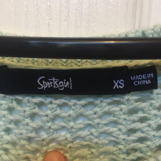 Sports girl Knit