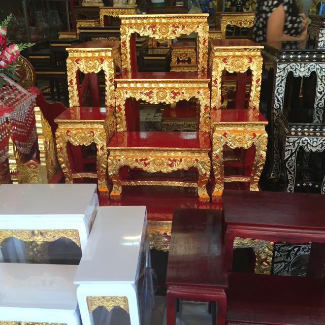 "Buddhist Wedding Altar: Thai Altar Table ""LAST PIECE"", Furniture, Home Decor"