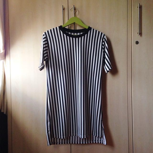 Vertical Striped Dress