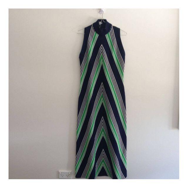 Vintage bold 70s  dress