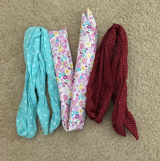 Wired Headbands With Pattern