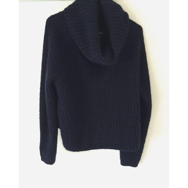 Zara Roll Neck Knit Size Small