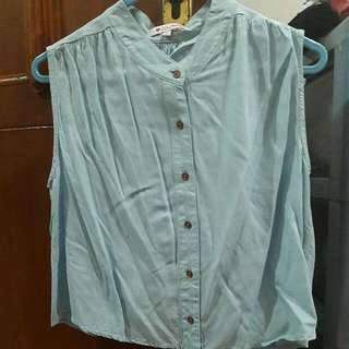 Blue Top by COLORBOX