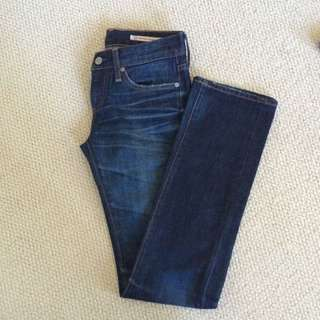 Jeans size 25R