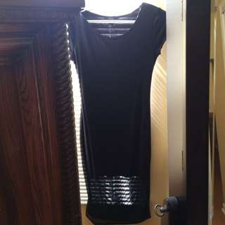 Forever 21 Long Black Dress