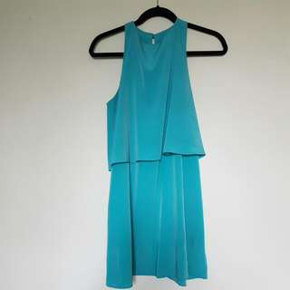Teal Everly Dress