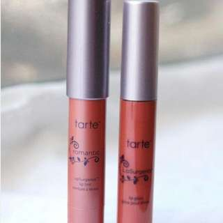 Tarte Lipsurgence Lip Tint (romantic) And Lip Gloss In Visionary