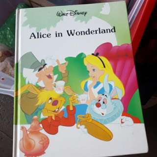 Hard Cover Alice And Wonderland