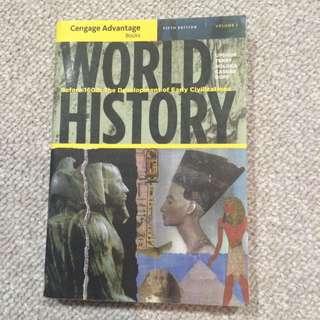 World History: Before 1600-fifth Edition-Upshur et al