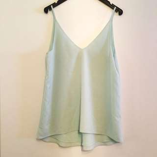Forever New Mint Green Cami Top Size 6