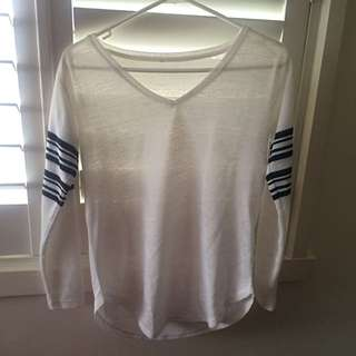 ASOS Long Sleeved Top Size 8