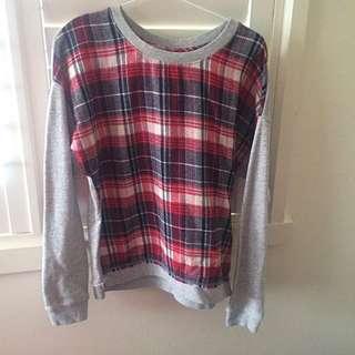 Element Long Sleeved Sweatshirt Size 8