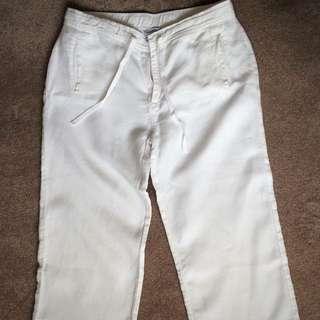 THE WHITE COMPANY Maternity Capri Pants