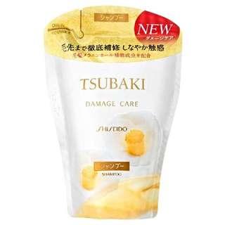 日本shisedo Tsubaki 洗頭水、護髪素 Refill Pack
