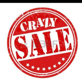 clearance sales!