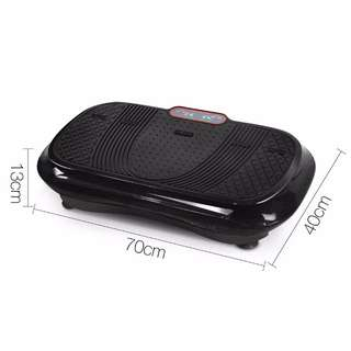 600W Vibrating Plate - Black Fitness Gym Equipment