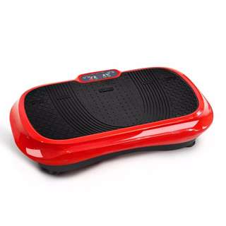 600W Vibrating Plate - Red Gym Fitness Workout Equipment