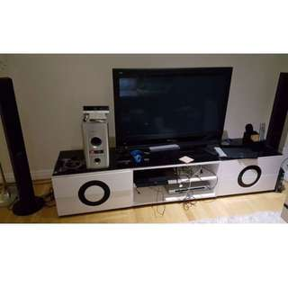 Entertainment at throw away price !! HomeTheatre with TV.