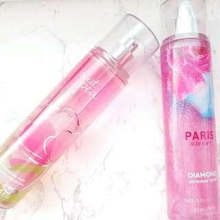 Original BATH AND BODY WORKS fragrance Mist - Shimmer Mist/perfume Mist