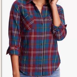 Old Navy Plaid