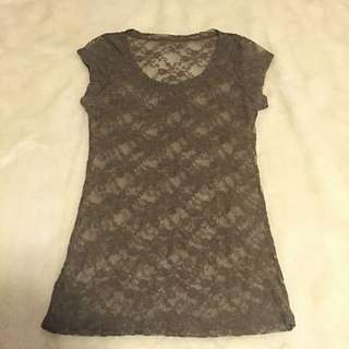 Lace T-shirt Size Small