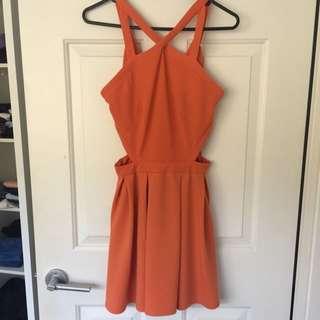 Orange Size Small Dress