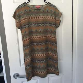 Size 10 Floral Casual Dress