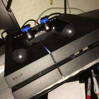 1tb Ps4 With Gamed