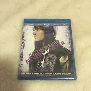 Justin Njene Never Say Never Blue-Ray