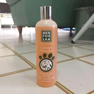 Menforsan Mink Oil Dog Shampoo