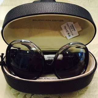 Sunglasses - Balenciaga - Limited Edition - Brown - Ombre Black