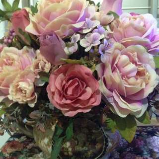 Price Reduce! Flower In An Antique Vase