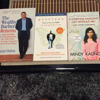 All Three Books For Sale