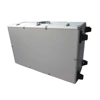 #UOBPayNow Aluminium Box Case (L800×W300×H500mm) with Pluck Foam inserts. Suitable for putting media, photography equipments, etc