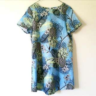 Tropical Shift Dress Never Worn