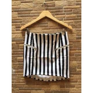H&M Stripes Skirt