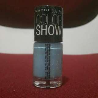 COLOR SHOW Light Blue Nail Polish