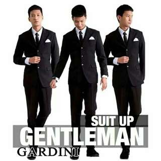 Black Gray Tuxedo Suit Coat for RENT and SALE!